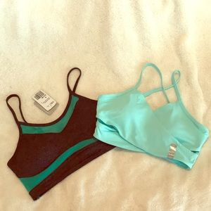 NWT Set of 2 Forever 21 Sports Bras Size Medium